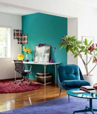 家居配色方案支招 几何色块打破沉闷
