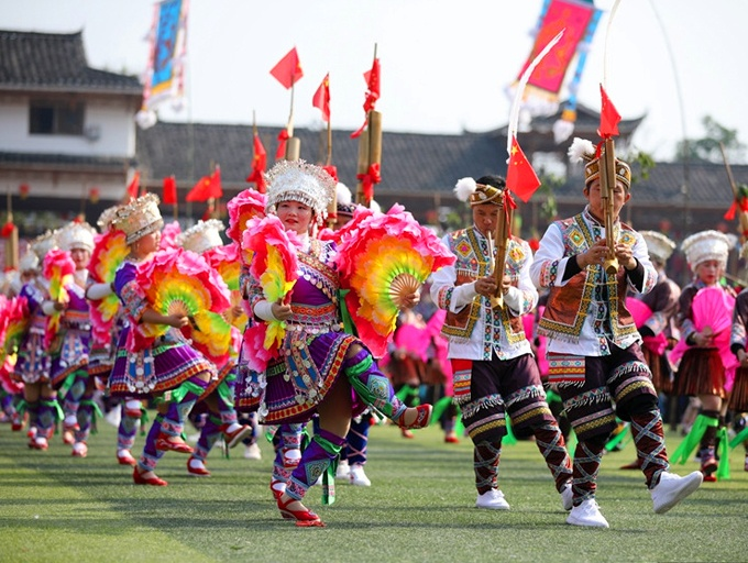 2019第十九届中国・融水苗族芦笙斗马节盛大开幕