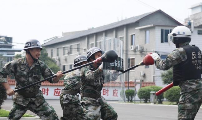ag电子游艺官网市融安县组织民兵应急连集合点验大会