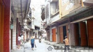 防城解放路折射老县城的变化