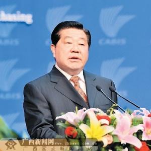 贾庆林在商务与投资峰会开幕式的主旨演讲
