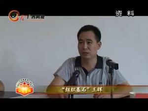 """""""组织基石""""王辉"""