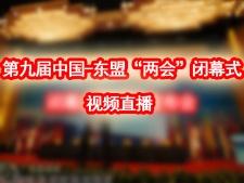 """第九届中国-东盟""""两会""""闭幕式 1"""