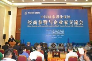 中国驻东盟使领馆经商参赞与企业家交流会