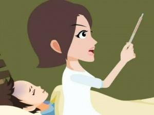 全国食品药品安全科普行动计划公益广告《谨防儿童用药误区――慎用退烧药》