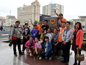 游玩越南界,畅游北仑河