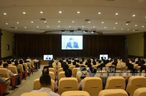 钦州组织收看中央党的群众路线教育实践活动视频会议