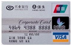 威士商务采购卡(威士标准公务卡)