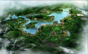 上林云里湖生态农业观光园项目规划图