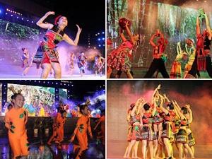 高清:鹿寨第五届旅游文化美食节开幕