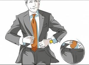 选择领带的实用步骤