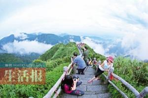 大明山森林避暑旅游节 女士裙子够短可免费进景区