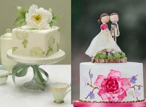 小型婚礼蛋糕好选择