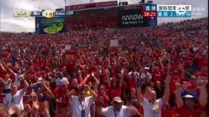 视频集锦-鲁尼2球悍将逆天吊射 曼联3-2胜罗马