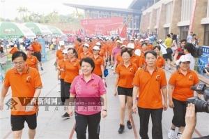 """第六届广西体育节盛大开幕 全民健身助力""""世锦"""""""
