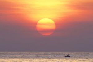 中国最美丽的海岛——涠洲岛威马逊台风前的美景