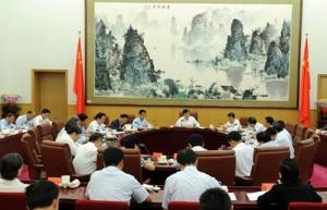 刘云山主持召开中央党的群众路线教育实践活动领导小组会议