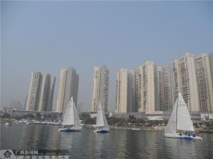 2014中国柳州国际内河帆船赛今日开赛 28支队伍参赛