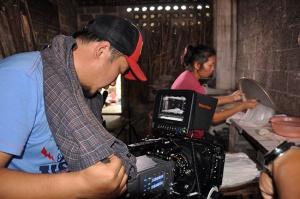 央视纪录片《稻之道》到宾阳县拍摄