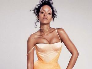 流行天后Rihanna登封面