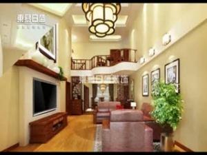 230平米楼中楼新中式装修