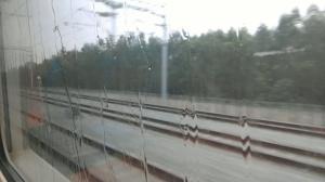 【记者体验贵广高铁广西段】窗外下起了雨