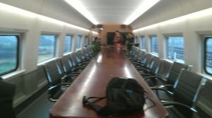 【记者体验贵广高铁广西段】高大上的会议室