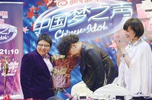 """广西学子朱兴东夺得""""中国梦之声""""亚军 拜师韩红"""