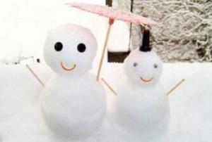 全国多地降雪 你堆雪人了吗?