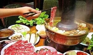 鲜香羊肉炭火锅