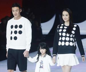 高清:中国—东盟时装周上演刘嘉亲子童装秀