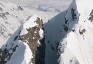 滑雪达人高山滑雪秀