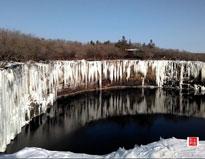 北国行之冰封下的镜泊湖