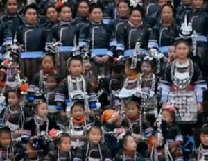 贵州侗族萨玛节