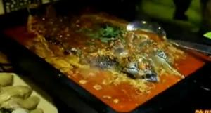 UFO烤炉 烤鱼香喷喷