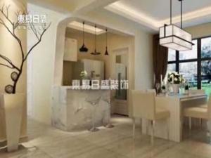 凤景湾现代中式装修案例