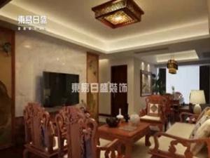 南宁凤景湾现代中式装修案例