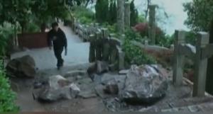 山石砸中游客 已致7死25伤