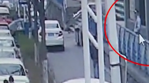 窃贼利用锁车干扰器盗窃