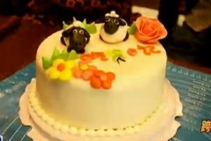 翻糖蛋糕 爱的滋味