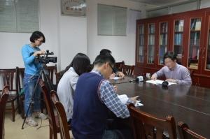 广西电台到黎塘采访司村抗日故事
