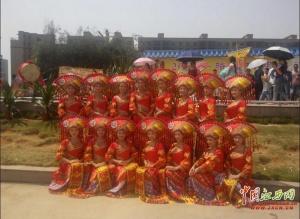 [中国江西网]高清图:万人中越边城公祭骆越始祖