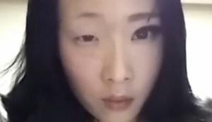 韩国妹子卸妆 前后判若两人