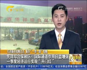 """凭祥综合保税区:国际通道作用日益增强 一季度经济运行实现""""开门红"""""""