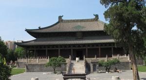探访千年古刹北岳庙 专家抢修吴道子壁画真迹