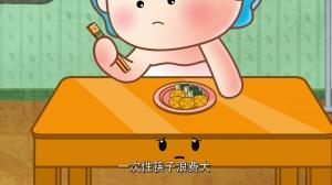 《一次性筷子浪费大 爱惜树木不用它》