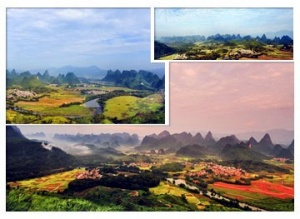 摄影爱好者的天堂  罗城山乡美景令人惊叹