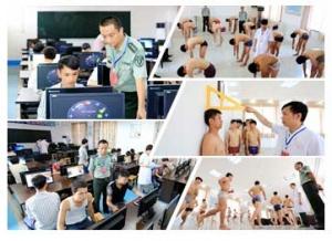 高清:柳州融安征兵体检全面展开