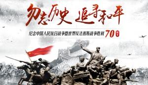 抗战胜利70周年纪念大会(上)