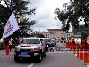 赛车驶入越南